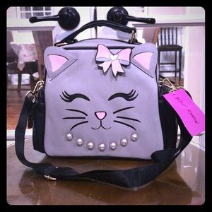 Betsey Johnson Insulated Kitty Lunch Tote
